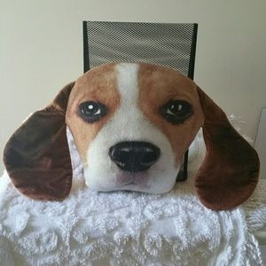 Other - Dogey Face Plush 3D Pillow